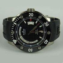 Edox Class 1 Day Date Automatic Titanium 500 m Diver –...