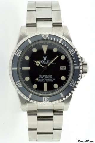 Rolex Oyster Perpetual Sea-Dweller. Model No 1665