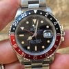 Rolex GMT Master 2 II 16760 (16710) Nero e Rosso Fat La...