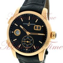 Ulysse Nardin GMT Dual Time Manufacture 42mm, Black Dial -...