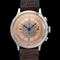 Eberhard & Co. Vintage pre Extrafort Chrono s. s. case,...