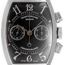 Franck Muller Chronograph 18k White Gold Men's Watch 5850 CC