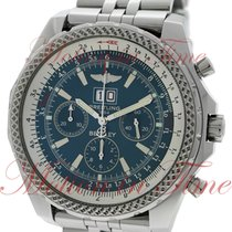 Breitling Bentley 6.75, Blue Dial - Stainless Steel on Bracelet