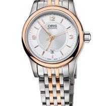 Oris Classic Date Lady Farbe Weiß