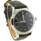 Universal Genève 1953 Automatic Stainless Green Leather Black...