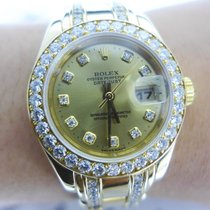 Rolex Oyster Perpetual Datejust Pearlmaster Gold and Diamonds...