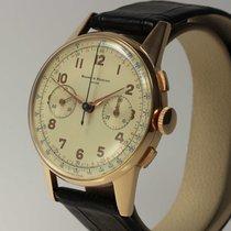 Baume & Mercier großer Vintage Chronograph 18K Roségold ,...