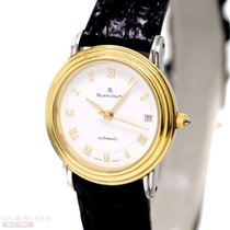 Blancpain Villeret Automatic Ref-0096-10-8118k Yellow Gold...