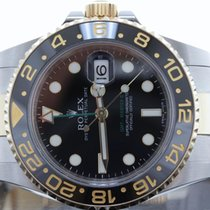 Rolex GMTii Two Tone 116713 Box & Papers Complete