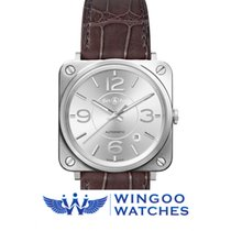 Bell & Ross BR S Officer Silver Ref. BRS92-SI-ST/SCR