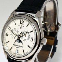 Patek Philippe Annual Calendar 5146 Moon 18k White Gold Watch...