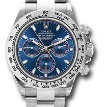 Rolex 116509 Cosmograph Daytona 18K White Gold Unisex Watch