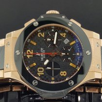 Hublot Big Bang 44mm 18k Full Rose Gold Ceramic Chrono Watch...