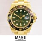 Rolex Gmt Master II Gold Green Ref.116718LN