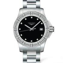 Longines Conquest Quartz Diamond Markers Ladies Watch