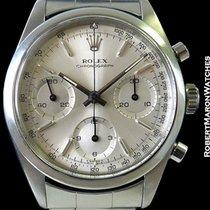 Rolex 6238 Pre-daytona Steel Chronograph Box & Papers