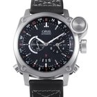 Oris BC4 Flight Timer Mens Stainless Steel Automatic Watch...