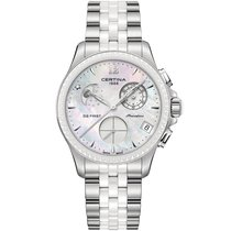 Certina DS First Lady Keramik Chrono Mondphase C030.250.11.106.00