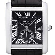 Cartier Tank MC Edelstahl Großes Modell Ref. W5330004