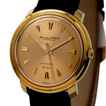 IWC Vintage Gentlemen Watch Automatic De Luxe Cal-853 18k...
