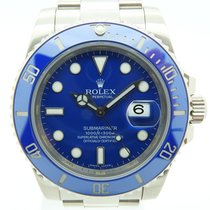 Rolex Submariner Date Oro Blanco