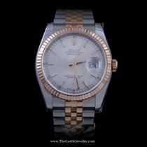 Rolex DateJust 36mm Stainless and 18K Everose Gold