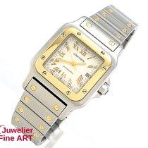 "Cartier Santos"" Edelstahl/18K Gelbgold - Automatik - 29 x..."