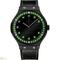 Hublot Classic Fusion Shiny Ceramic Gemstone Unisex Watch