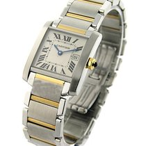Cartier W51012Q4 Tank Francaise 2-Tone Mid Size - with Date -...