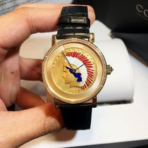 Corum Native American Heritage Coin Watch