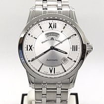 Maurice Lacroix Stainless Steel Pontos Day Date Automatic Pt 6058