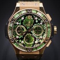Hublot Big Bang 41MM Rose Gold Green Dial Python  Boa Green