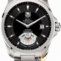 TAG Heuer Men's Grand Carrera Automatic Calibre 6 Rs Watch...