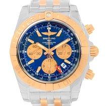 Breitling Chronomat Gmt Chrono Steel Rose Gold Watch Cb042012...
