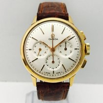Omega Chronograph Vintage Pink Gold,Manual Winding, Box &...