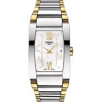 Tissot Generosi-T White Mother of Pearl Dial Ladies Watch...