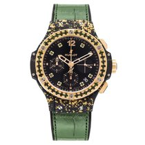 Hublot Big Bang Gold Linen Green Gold
