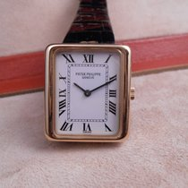 Patek Philippe Lady's 18K Gold Rectangular Wristwatch