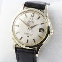 Omega Constellation 585 Gold Herrenuhr
