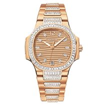 Patek Philippe 7014/1R-001 Rose Gold Ladies Nautilus 33.6mm ...