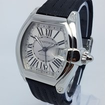 Cartier Roadster GMT XL 2722 Mens Automatic Watch Full Set