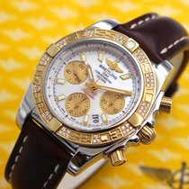 Breitling Chronomat 41 Mother of Pearl Dial Factory Diamonds