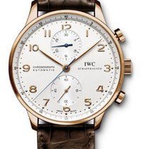 IWC Portuguese Chronograph - Red Gold IW371480