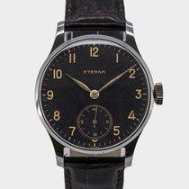 Eterna Rare Vintage Calatrava Gilt Black Dial / Cal.852 / 1941