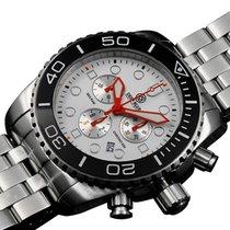 Deep Blue Sea Ram 500 Chrono Diving Watch Swiss Quartz...
