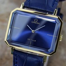 Omega Deville Andrew Grima Swiss Made Mens Manual Gold Plated...