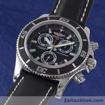 Breitling Superocean Chronograph 46 M2000 Herren A73310 Black...