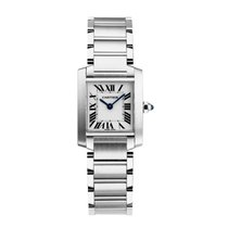 Cartier Tank Francaise Quartz Ladies Watch Ref W51008Q3