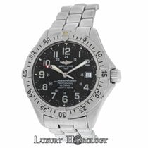 Breitling Authentic Mens SuperOcean A17045 5000 Feet Date...