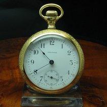 Waltham Gold Mantel Open Face Taschenuhr Von Ca. 1904